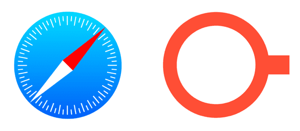 Safari and Trestle icons